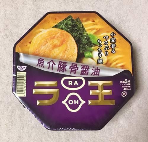 ラ王 魚介豚醤油