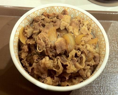 すき家 牛丼 特盛.JPG