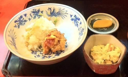 のんき のりから丼 食べ終わり.JPG