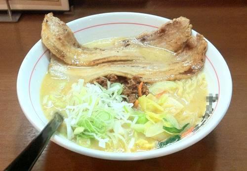 優勝軒系 味噌チャーシュー麺