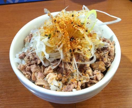 ラーメン風 チャーシュー丼