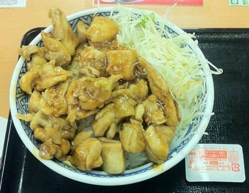 吉野家 鶏生姜丼.JPG