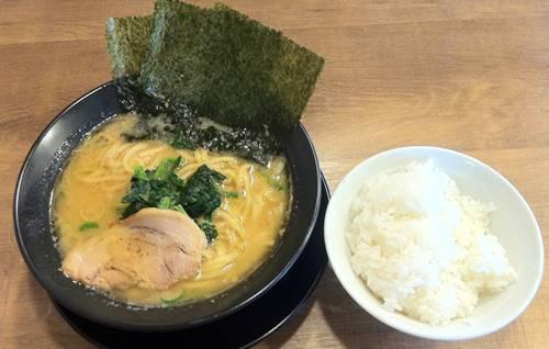 武骨家 とんこつ味噌ラーメン&半ライス.JPG