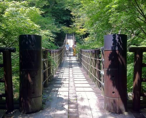 花貫渓谷 吊り橋.JPG