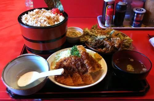 のんき ショッキング定食