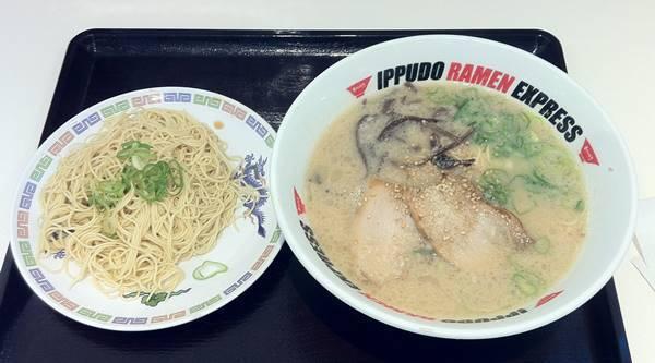 IPPUDO RAMEN EXPRESS 博多流豚骨ラーメン&替え玉.JPG