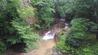 山本不動尊の川