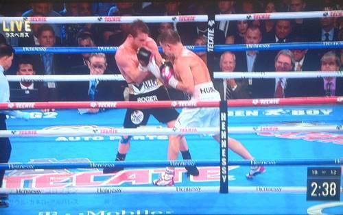 WBA,WBC世界ミドル級タイトリマッチ、ゲンナディ・ゴロフキンvsサウル・アルバレス.JPG
