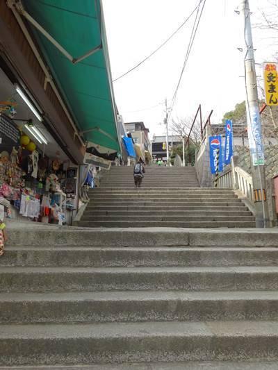 金毘羅神社総本宮 階段