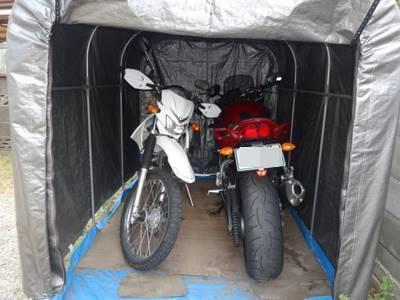 サイクルハウス バイクガレージハウス