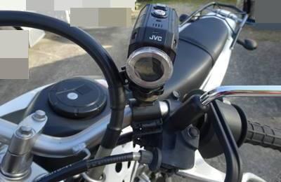 klx125 カメラマウント
