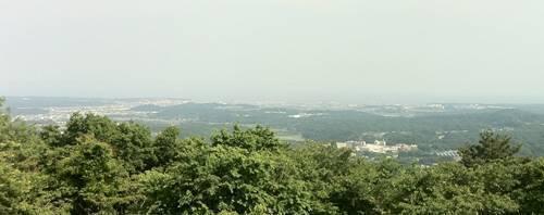 いわき市パノラマライン 展望台より.JPG