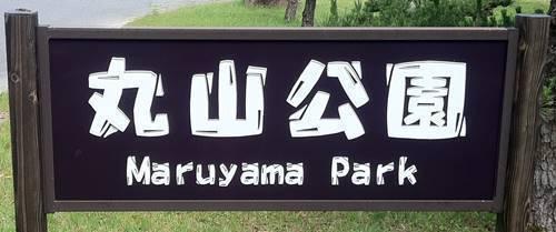いわき市丸山公園  看板.JPG