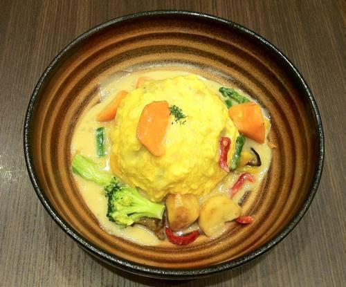 おむらいす亭 たっぷり野菜のクリームおむらいす.JPG