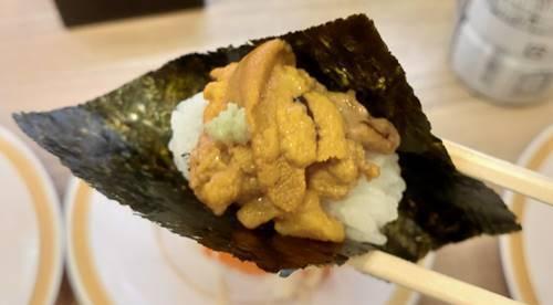 かっぱ寿司 100円 うに包み.jpg