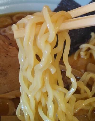 がんこラーメン ラーメン すべて大盛 麺.JPG