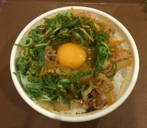 すき家 ねぎ玉牛丼1.JPG