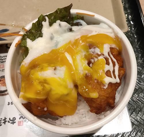 はなまるうどん 鶏の唐揚げ丼.jpg