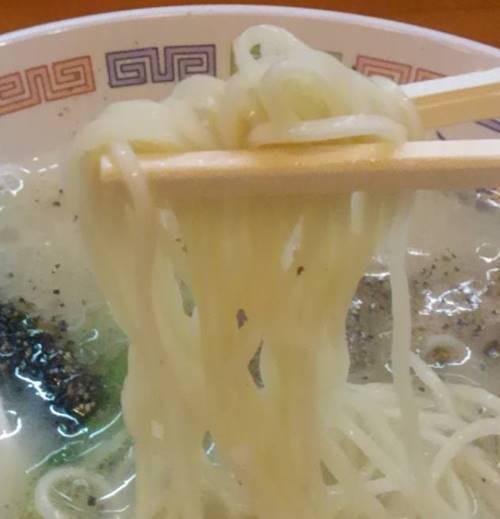 らあめん花月嵐 丸星ラーメン 麺.JPG