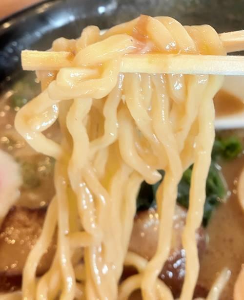 らあめん花月嵐 幕末維新らあめん 坂本龍馬 麺.jpg