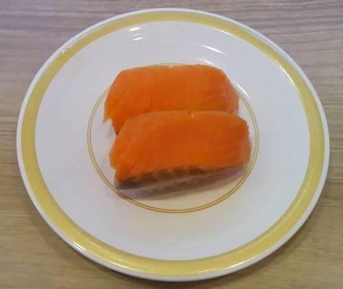 カッパ寿司 食べ放題「食べホー」 サーモン.JPG