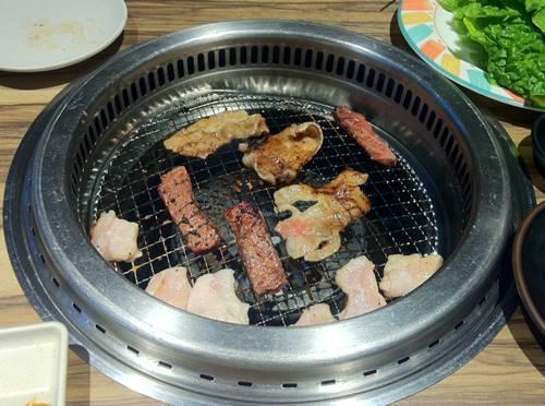 カルビ大将 焼き肉1.JPG