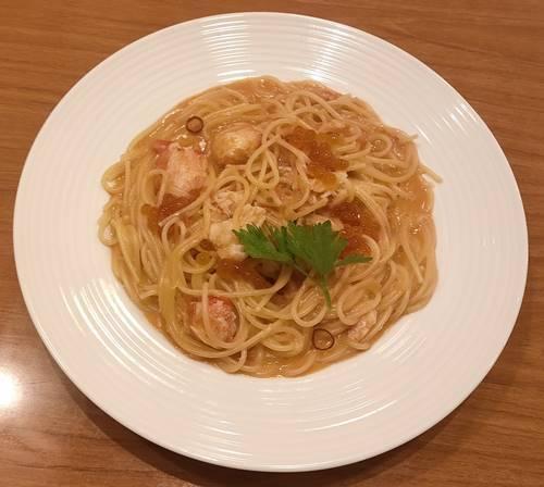 ココス マルズワイガニ のトマトクリームスパゲッティ.jpg