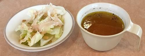 サイゼリヤ ランチサラダ&スープ.jpg