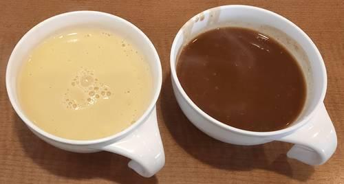 ステーキ宮 ベジカレースープ&コーンポタージュスープ.jpg