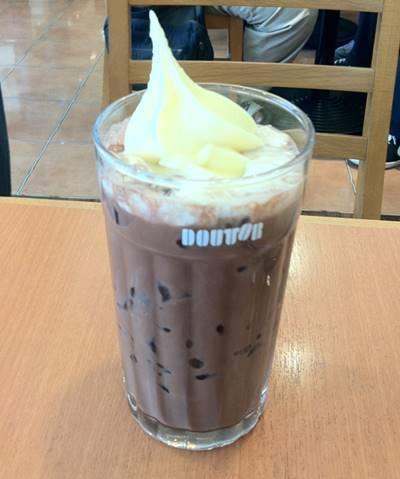 ドトールコーヒー アイスココアフロート.JPG