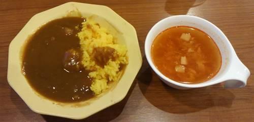 ビッグボーイ カレー&レッドトマトチリスープ.JPG
