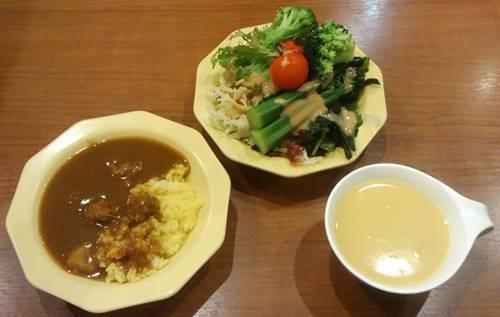 ビッグボーイ カレー&サラダ&スープ.JPG
