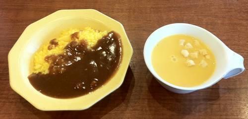 ビッグボーイ ランチ カレー&コーンスープ.JPG