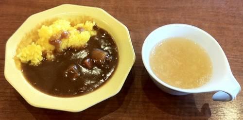 ビッグボーイ ランチ カレー&中華スープ.JPG