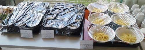 ホテル花天 ランチバイキング ラーメン&蕎麦&うどん.JPG