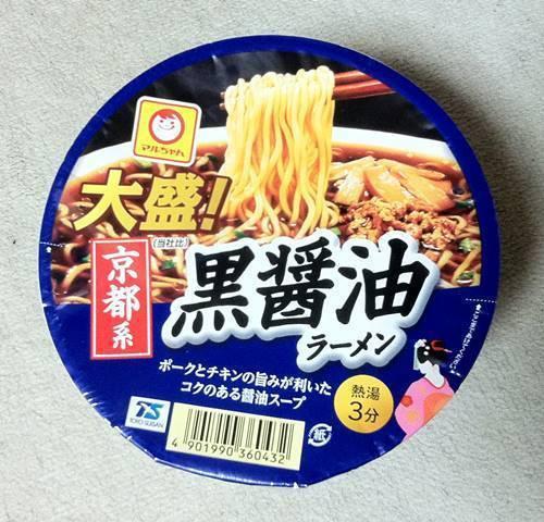 マルちゃんカップラーメン 京都ラーメン.JPG