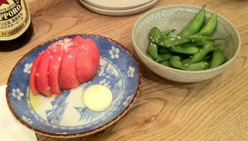 一角 冷やしトマト&枝豆.JPG