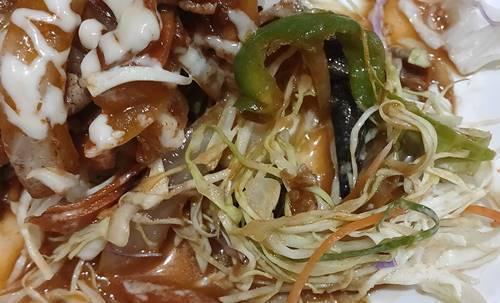 中華のんき 味噌バラ焼肉定食 キャベツの千切り.jpg