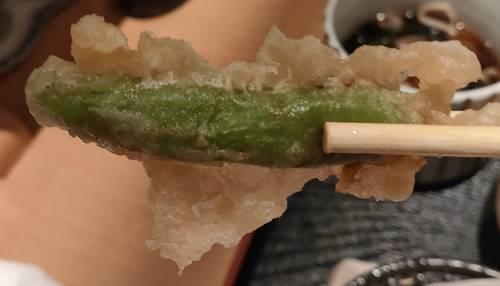 個室居酒屋 寧々家 シシトウの天婦羅.jpg