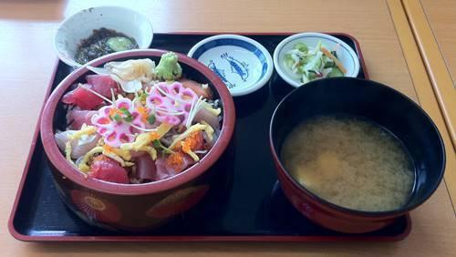 漁協直営市場食堂 ばらちらし寿司