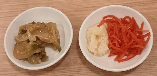 博多ラーメン 駿蔵 紅生姜&にんにく&ザーサイ.jpg