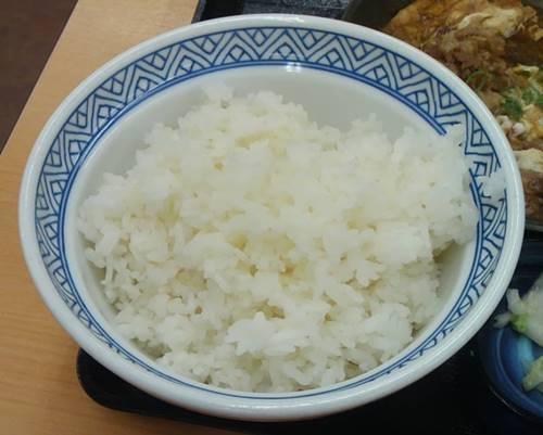 吉野家 定食 ごはんおかわり.JPG