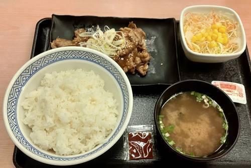 吉野家 牛カルビ定食.jpg