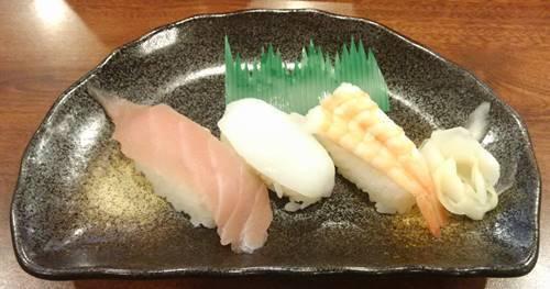 和風レストラン まるまつ 握り寿司.JPG