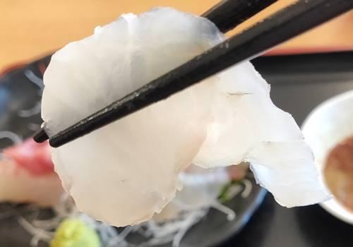 大津漁港直営 市場食道 刺身定食 ヒラメ.jpg