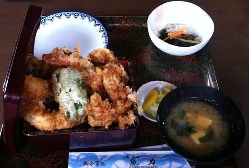 大浜丸 魚力 選べる4種の天重.JPG