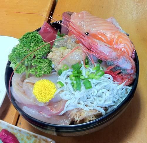 天心丸 海鮮丼
