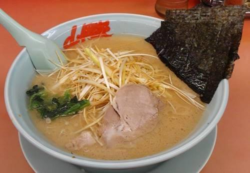 山岡家 醤油ネギラーメン.JPG