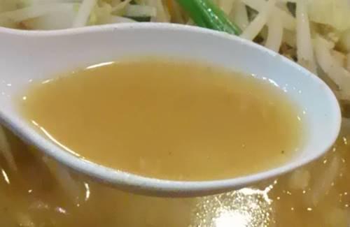 幸楽苑 味噌野菜たんめん スープ.JPG
