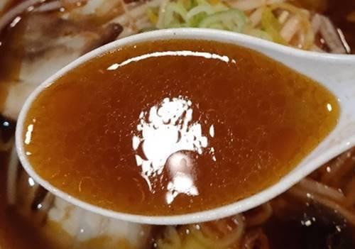 幸楽苑 激辛醤油らーめん スープ.jpg